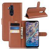 Чехол для Nokia 8.1 (коричневый)