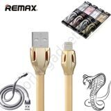Usb Кабель Lightning REMAX Laser для iPhone / iPad / iPod Touch (золотой)