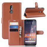 Чехол для Nokia 3.2 (коричневый)