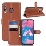 Чехол для Samsung Galaxy A40s (коричневый)
