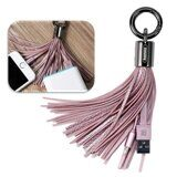 Брелок Remax Tassels Ring Lighting для iPhone / iPad / iPod Touch (розовый)