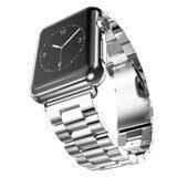 Стальной браслет Solid Stainless для Apple Watch 44 и 42мм (серебряный)