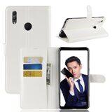 Чехол с визитницей для Huawei Honor Note 10 (белый)
