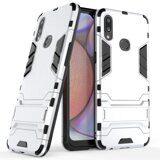 Чехол Duty Armor для Samsung Galaxy A10s (серебряный)