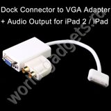 Адаптер VGA+Аудио выход для iPhone/iPad/iPod