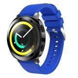 Силиконовый ремешок для Samsung Watch Active2 44мм. (голубой)