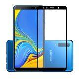 Защитное стекло 3D для Samsung Galaxy A7 (2018) (черный)