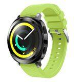 Силиконовый ремешок для Samsung Watch Active2 44мм. (зеленый)