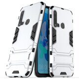 Чехол Duty Armor для Huawei P20 lite (2019)  (серебряный)