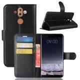 Чехол с визитницей для Nokia 8 Sirocco (черный)
