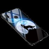 Чехол-накладка для Huawei nova 3 (Night Along Wolf)