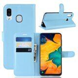 Чехол для Samsung Galaxy A30 / A20 (голубой)