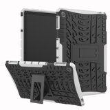 Чехол Hybrid Armor для Huawei MediaPad M5 lite 10 (черный + белый)