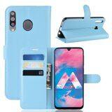 Чехол для Samsung Galaxy M30 (голубой)