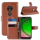 Чехол для Motorola Moto G7 Play (коричневый)