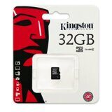 Карта памяти Micro SDHC Kingston 32GB Class 4 без адаптера