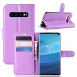 Чехол для Samsung Galaxy S10 (фиолетовый)