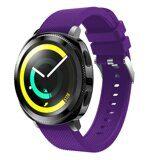 Силиконовый ремешок для Samsung Watch Active2 44мм. (фиолетовый)