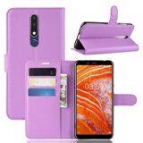 Чехол для Samsung Galaxy A6s (фиолетовый)