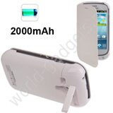 Внешнее зарядное устройство 2000mAh для Samsung Galaxy S3 mini / i8190 (белое)
