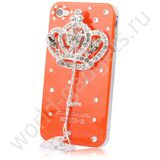 Чехол Handmade Diamond для iPhone 4/4s