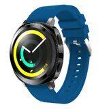 Силиконовый ремешок для Samsung Watch Active2 44мм. (синий)