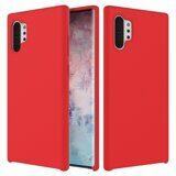 Силиконовый чехол Mobile Shell для Samsung Galaxy Note 10+ (Plus) (красный)