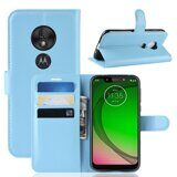 Чехол для Motorola Moto G7 Play (голубой)