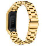 Стальной браслет для для Samsung Galaxy Fit E SM-R375 (золото)