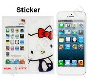 Пленка Hello Kitty Style для iPhone 5 (белая)