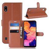 Чехол для Samsung Galaxy A10 (коричневый)