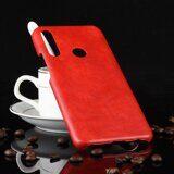 Кожаная накладка-чехол для Huawei P Smart Z (красный)