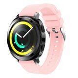 Силиконовый ремешок для Samsung Watch Active2 44мм. (розовый)