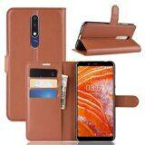 Чехол для Samsung Galaxy A6s (коричневый)