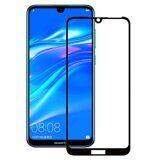 Защитное стекло 3D для Huawei Y7 (2019) / Y7 Prime (2019) (черный)