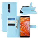 Чехол для Samsung Galaxy A6s (голубой)