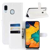Чехол для Samsung Galaxy A30 / A20 (белый)