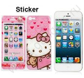 Пленка Hello Kitty Style для iPhone 5 (розовая)