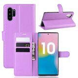 Чехол для Samsung Galaxy Note 10+ (Plus) (фиолетовый)