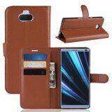 Чехол для Sony Xperia 10 Plus (коричневый)