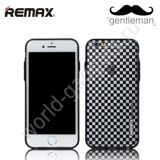 Чехол Remax Gentleman для iPhone 6 / 6S (Клетки)