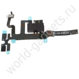 Модуль Audio Jack Ribbon Flex Cable для iPhone 4s (черный)