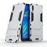 Чехол Duty Armor для Huawei Enjoy 9 / Huawei Y7 Pro (2019) (серебряный)