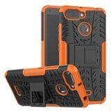 Чехол Hybrid Armor для Xiaomi Redmi 6 (черный + оранжевый)