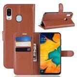 Чехол для Samsung Galaxy A30 / A20 (коричневый)