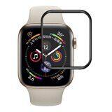 Защитное стекло 3D для Apple Watch 44 - Series 4 / Series 5 (черный)