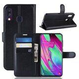 Чехол для Samsung Galaxy A40 (черный)