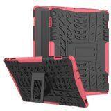 Чехол Hybrid Armor для Huawei MediaPad M3 Lite 10 (черный + розовый)