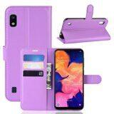 Чехол для Samsung Galaxy A10 (фиолетовый)