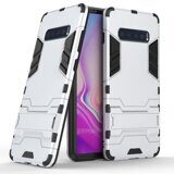 Чехол Duty Armor для Samsung Galaxy S10+ (Plus) (серебряный)